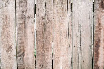 Wooden background from old plank boards