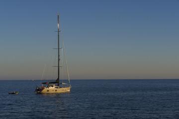 Yacht at Dusk