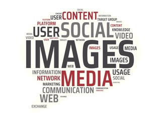 IMAGES - image with words associated with the topic SOCIAL MEDIA, word, image, illustration