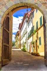 Montecarlo, Toskana, Italien