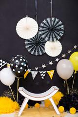 Obraz Dekoracja urodzinowa - fototapety do salonu