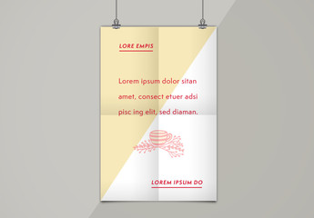 Illustrated Quotation Poster Layout 2
