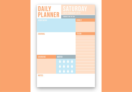 Daily To Do List Layout 7