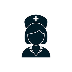 woman nurse icon