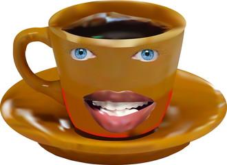 Любимая кружка кофе.