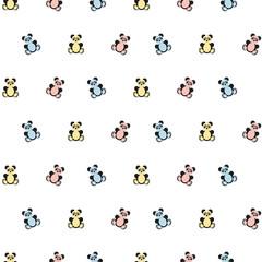 Panda bear pattern.
