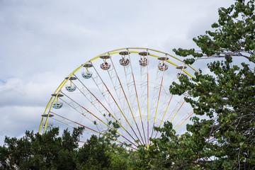 Grande roue, fête foraine des Tuileries, Paris