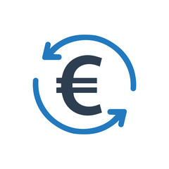 Euro Conversion Icon