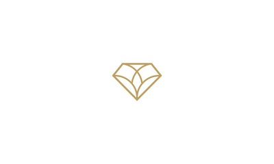 diamond, emblem symbol icon vector logo