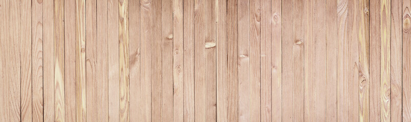 Rustic wooden table background top view. Light wood texture for design