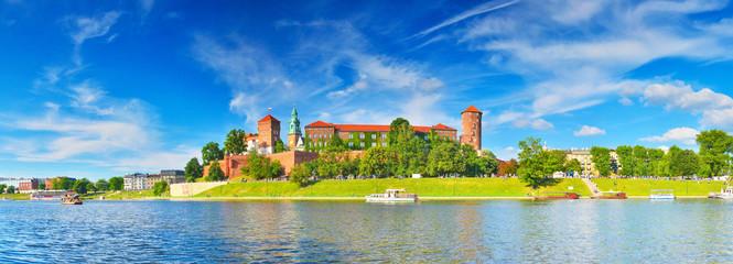 Tuinposter Krakau Wawel Castle, Krakow
