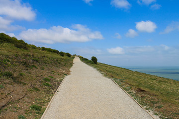 Path on Slope, White Cliffs of Devon
