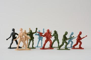 Miniature military models