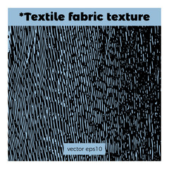Fabric texture with textile lines and elements for templates of banners and different designs.