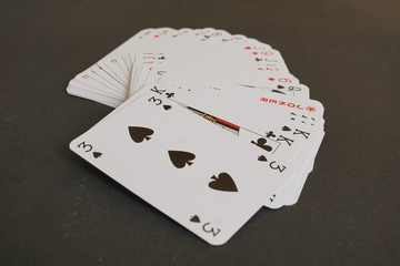 Bunch of playing cards