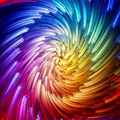 Speed of Vibrant Vortex