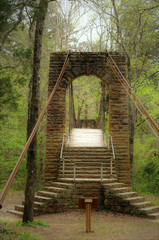 Tishomingo State Park Swinging Bridge