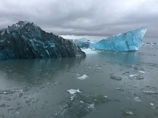 glacier ice lagoon