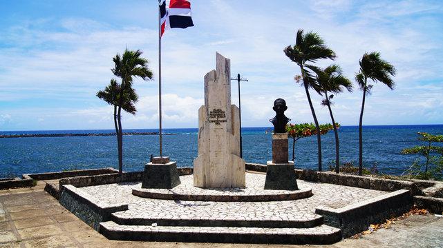 Monumento en Santo Domingo, República Dominicana