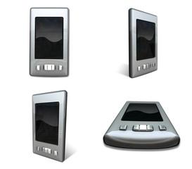 3D smartphone Icon. 3D Icon Design Series.