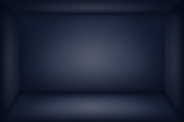 abstract grey and blue background ,clean studio and room - can be used for display or montage your products