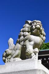 狛犬 神峰神社