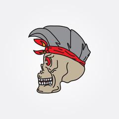 skull illustratin