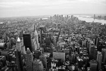 Fond de hotte en verre imprimé New York City carte de new york