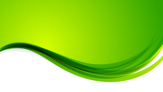 Abstract Green Background With Space for Your Text