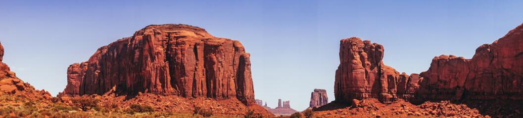 Rain God Mesa. The divine rocks of the Navajo