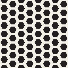 Vector seamless pattern. Modern geometric lattice texture. Repeating background grid