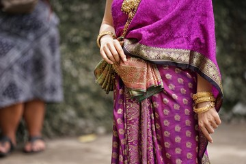 Thai dresses are handmade.