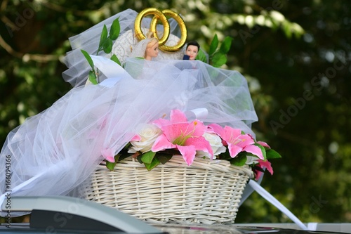 Wedding Car Decorations Stock Photo And Royalty Free Images On