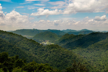 view point at Khao Yai National Park, Thaiand