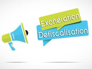 mégaphone : exonération défiscalisation