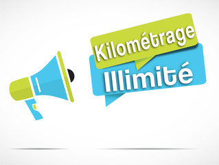 mégaphone : kilomètrage illimité