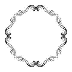 Ornament vintage baroque vector