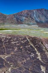 Felseichnungen in der Mongolei
