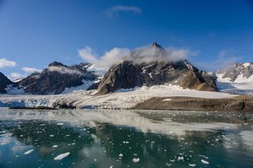 Photo sur Aluminium Pôle Arctic landscape