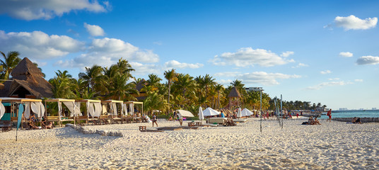 "North Beach of ""Isla Mujeres"" in Mexico / Caribbean Island with very nice beaches next to Cancun"