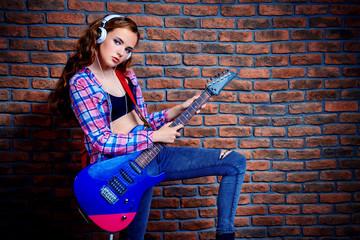 rock music instrument