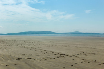 Empty Beach - Long, empty, sandy beach