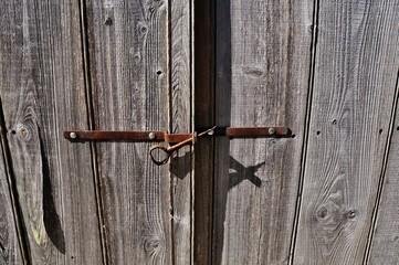 Porte scellée