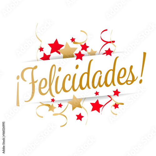 """Felicidades"" Stock image and royalty-free vector files on ..."