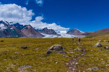 Trekking in der Mongolei Altai Tavan Bogd