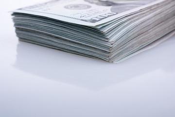 American 100 dollar banknotes