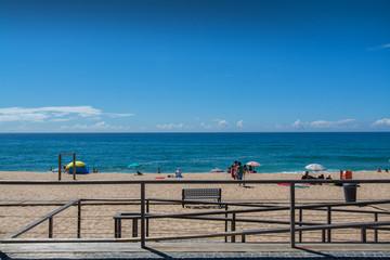 Fisica beach in Santa Cruz, Portugal.