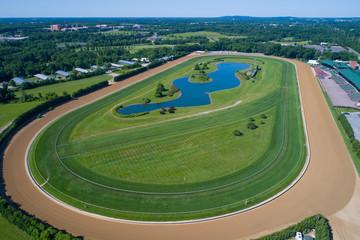 Delaware Park race track
