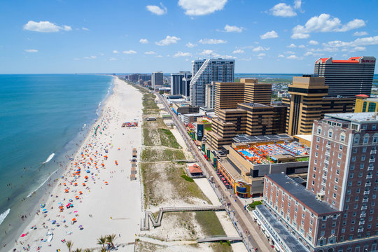 Aerial image Atlantic City NJ