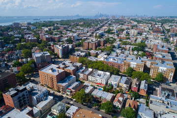 Aerial image of Bay Ridge Brooklyn New York